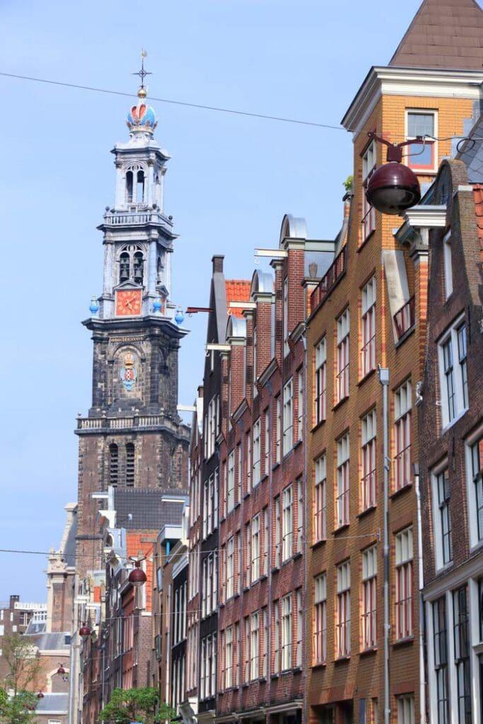 Tweede Tuindwarsstraat street in Amsterdam