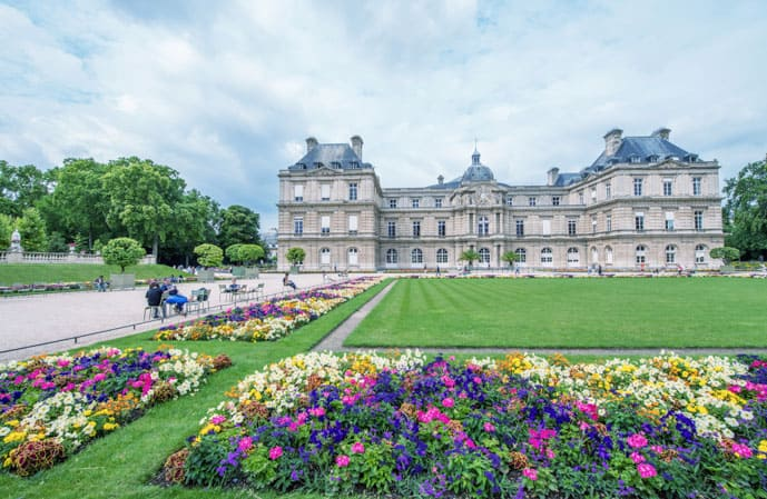 2 days in Paris, visit the Luxembourg Gardens