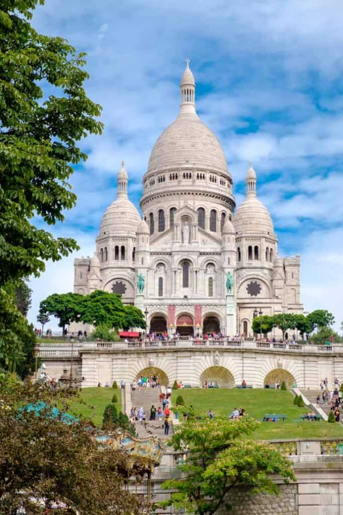 2-day Paris itinerary, visit the Sacre-Coeur