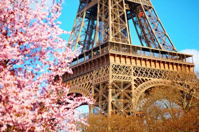 Paris in 2 days itinerary, spring in Paris