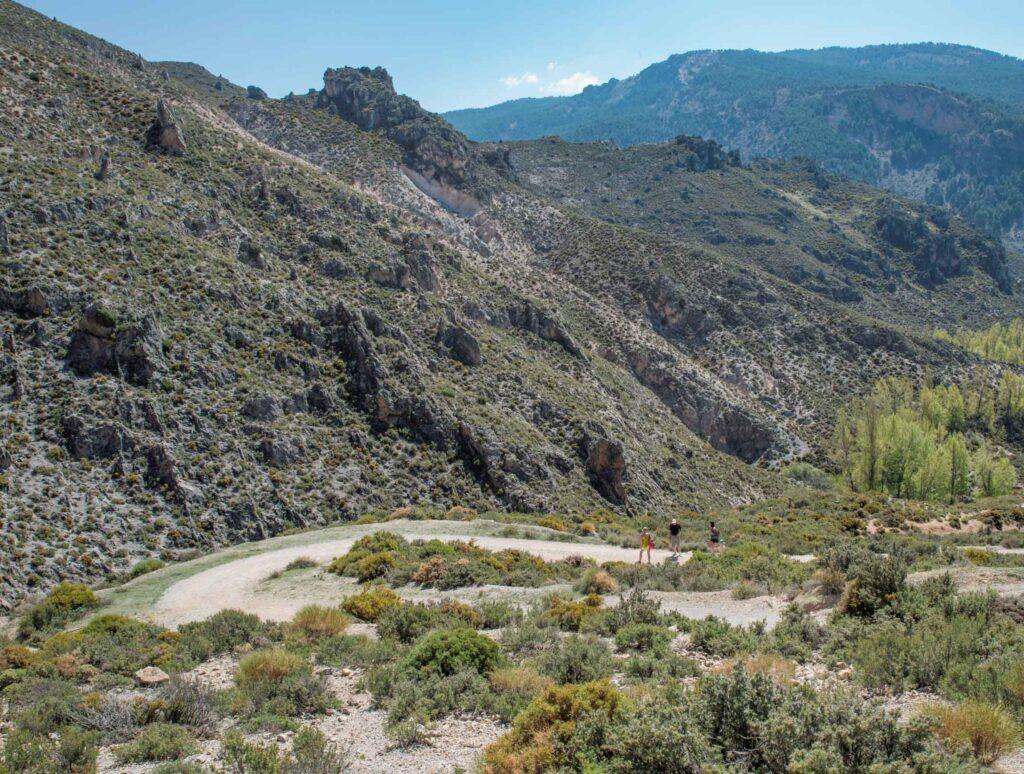 Los Cahorros de Monachil in Sierra Nevada, Spain