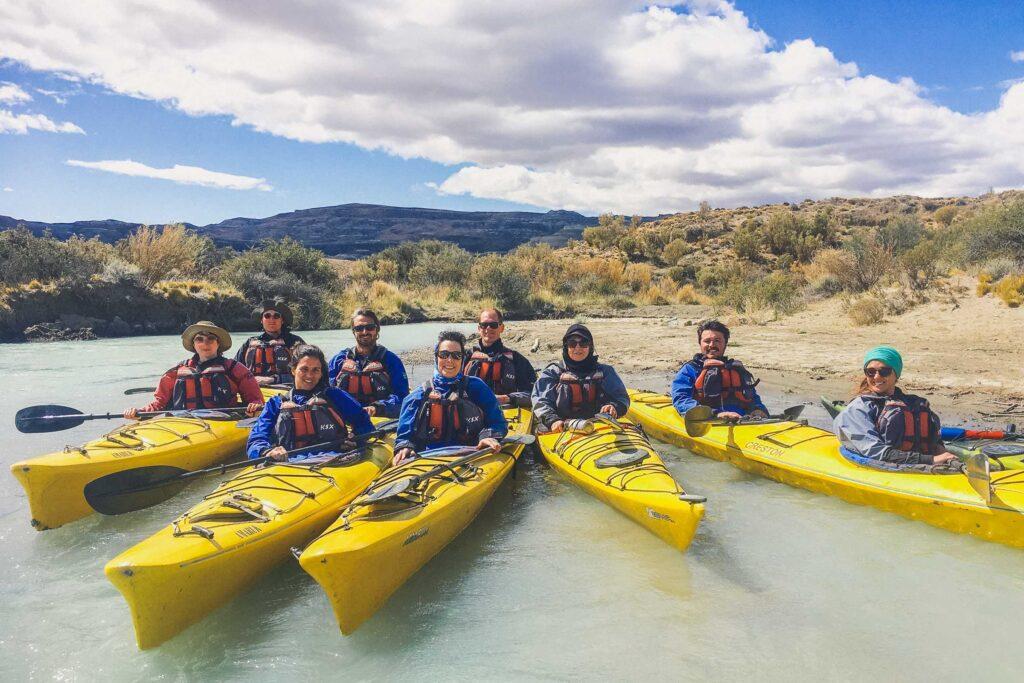 Kayak experience in El Calafate, Argentina