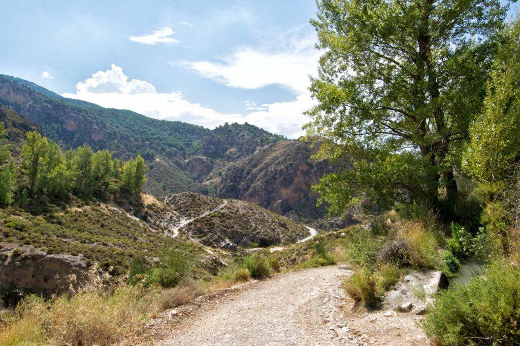 Mountains in Sierra Nevada, Spain