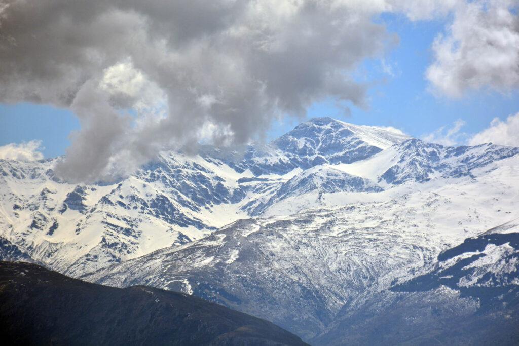 Mulhacen Peak in Sierra Nevada, Spain