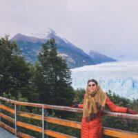 Walkways at Perito Moreno in El Calafate, Argentina