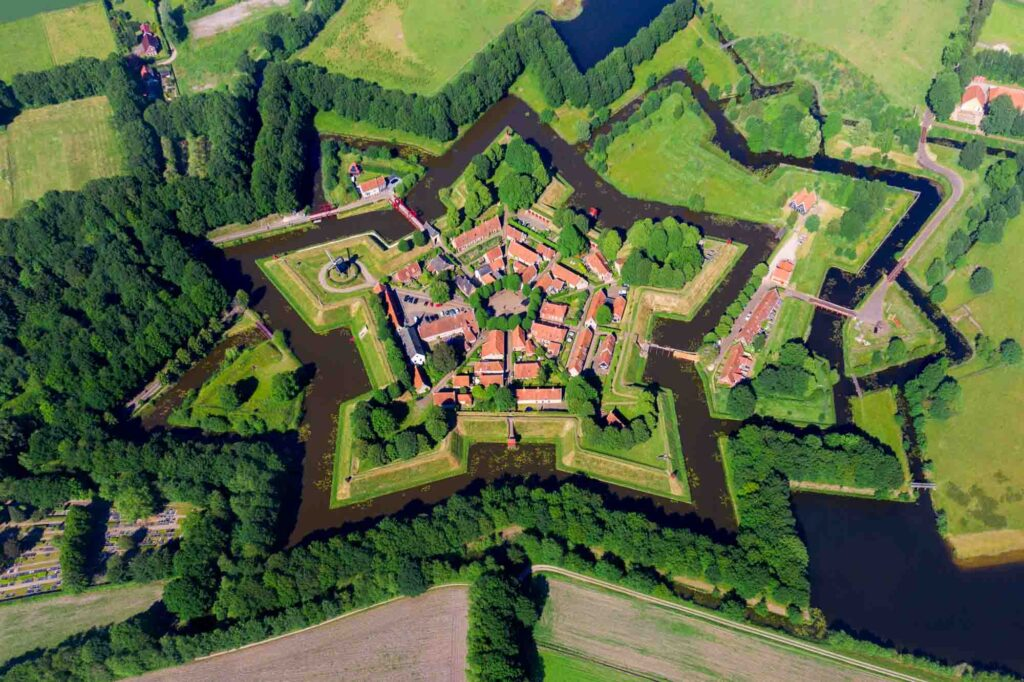 Bourtange is one of the charming Dutch villages not to miss