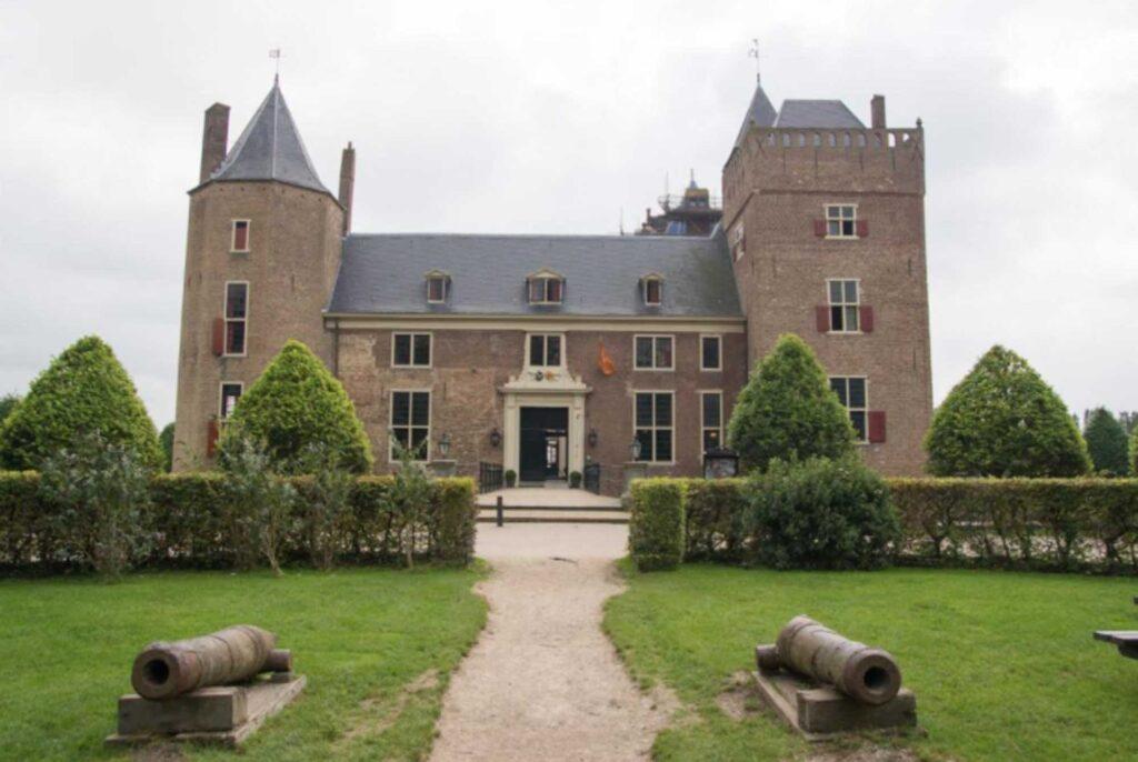 Castle Heemskerk is one of the best castle hotels in the Netherlands