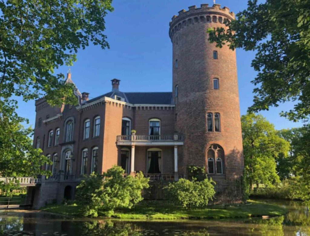 Castle Sterkenburg is one of the cool castle hotels in the Netherlands