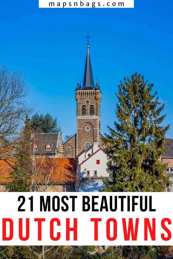 Dutch Towns, Pinterest Graphic