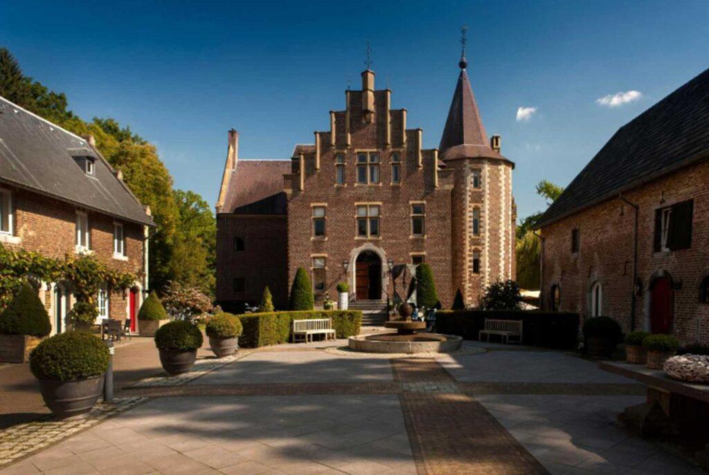 Hotel Kasteel TerWorm is one of the castle hotels in the Netherlands