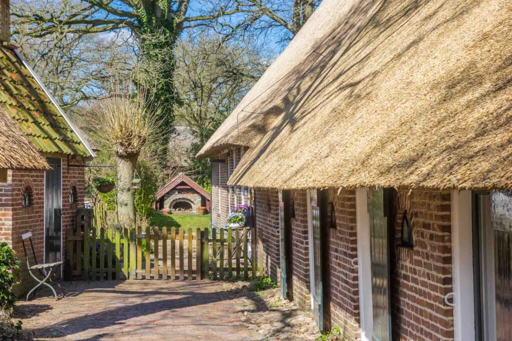 Orvelte is one of the beautiful Dutch villages