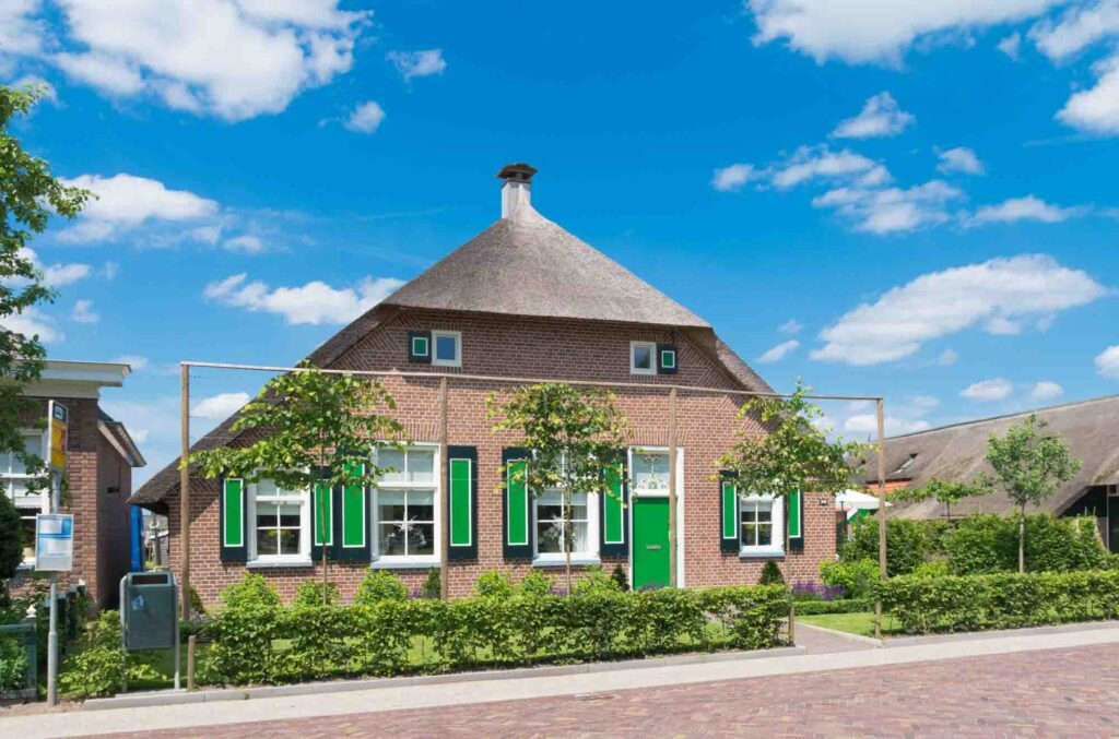 Staphorst is one of the cute Dutch towns to visit