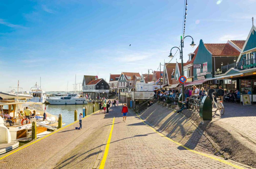 Volendam is one of the most beautiful dutch towns