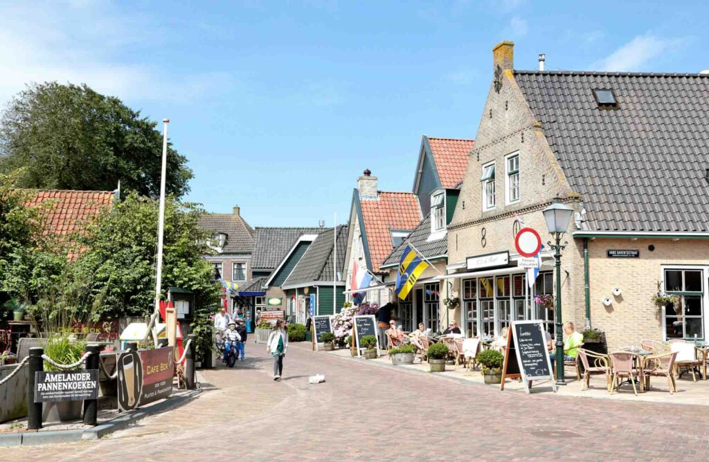 Hollum is one of the charming villages in the Netherlands