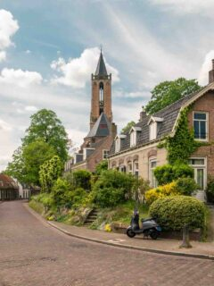 Amerongen is one of the charming villages in the Netherlands not to miss
