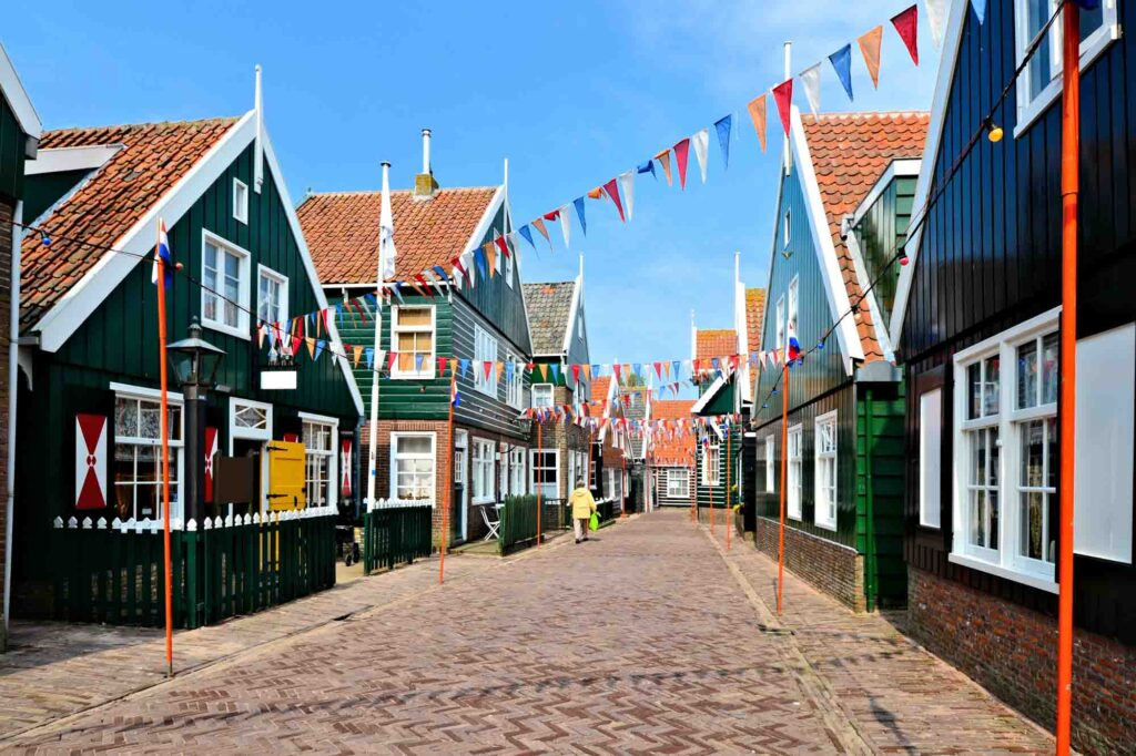 Marken is one of the cutest Dutch villages to visit