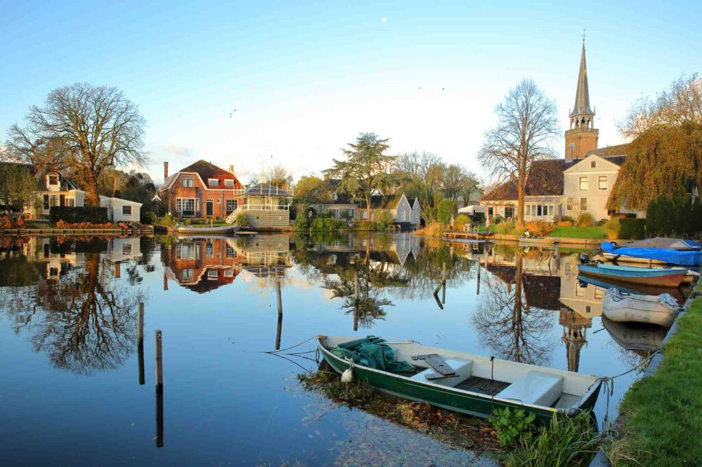 Broek in Waterland is one of the cutest villages in the Netherlands