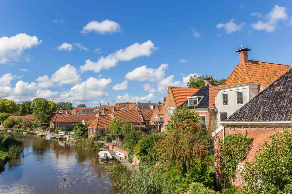 Winsum is one of the cute  Dutch towns not to miss