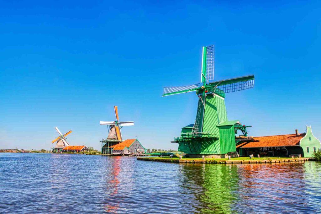 Zaandijk is one of the most beautiful Dutch towns to visit