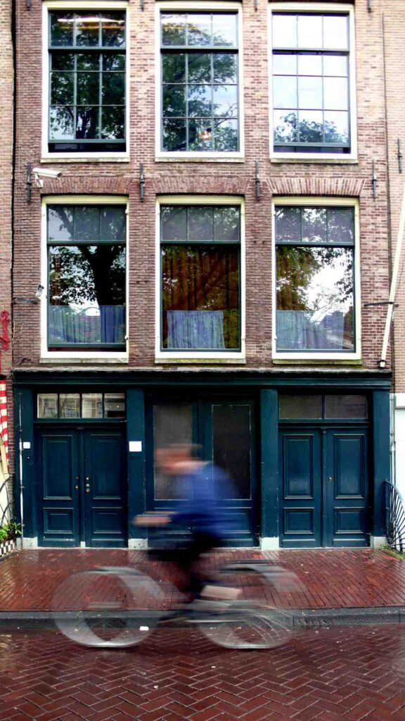 Anne Frank House is one of the famous landmarks in the Netherlands