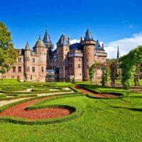 De Haar Castle is one of the famous landmarks in the Netherlands