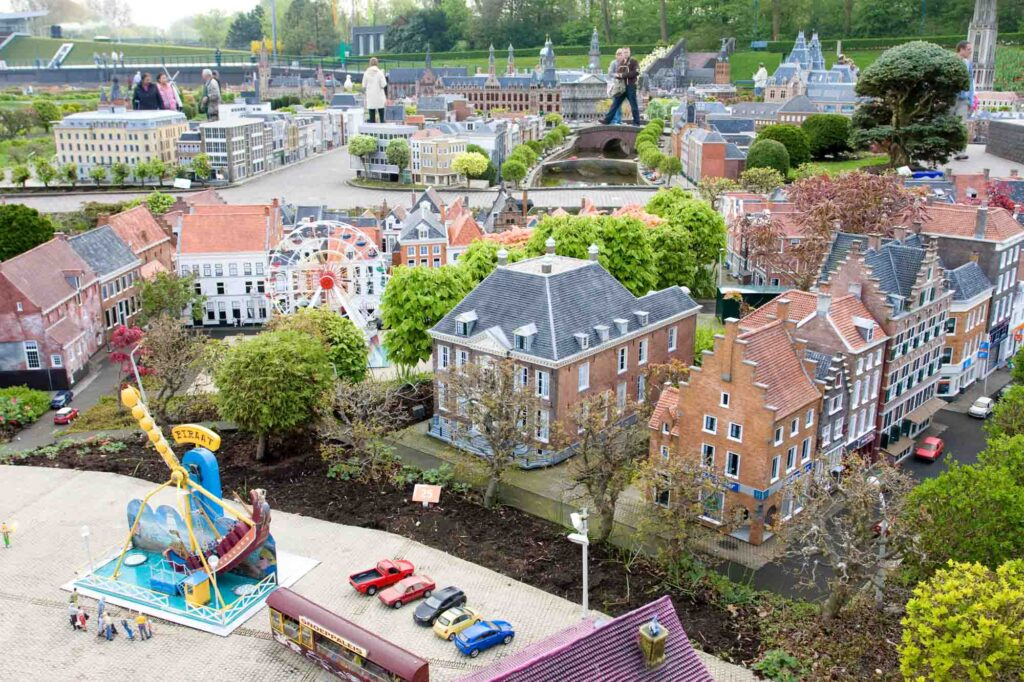 Madurodam is one of the famous landmarks in the Netherlands