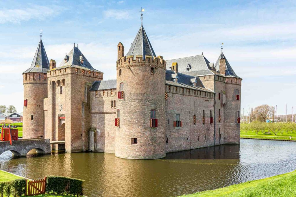 Muiderslot is one of the landmarks in the Netherlands to visit